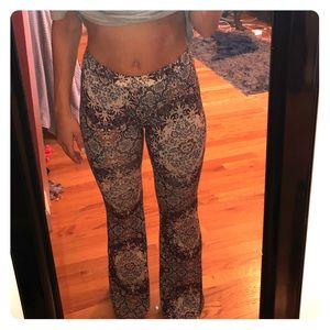 American Eagle Bell Bottomed Printed Pants